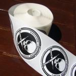 2 rolls (100 stickers each)