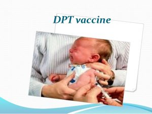 an analysis of dpt vaccination Abstract using decision analysis, we estimated the benefits, risks and costs of routine childhood immunization against pertussis without an immunization program, we predict that there would be a 71-fold increase in cases and an almost fourfold increase in deaths (20 to 76) per cohort of one million children.